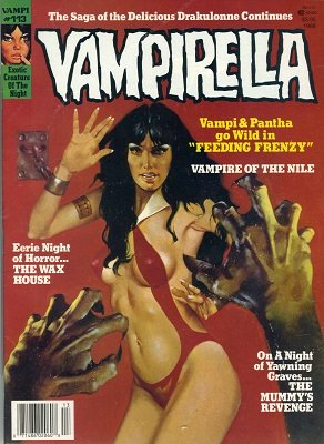 Vampirella #113: Last issue, very low print run. Click for values