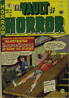 Vault of Horror #12 Classic Bondage + Torture cover. Click for values