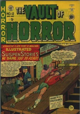 Vault of Horror #12 (Apr 1950): EC Comics, Bondage Cover. Click for values