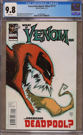 100 Hot Comics #93: Venom Deadpool What If? (2011). Look for a CGC 9.8. Click to buy a copy