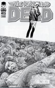 Walking Dead 100 Adlard Cover variant