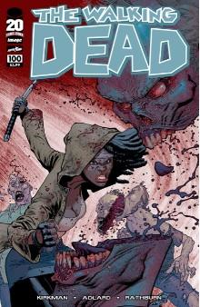 Walking Dead 100 Ottley Cover variant