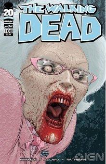 Walking Dead 100 Quitely variant