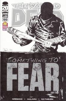 Walking Dead 100 sketch variant