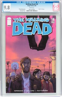 WD #18 CGC 9.8. Record sale $160. Click to buy yours