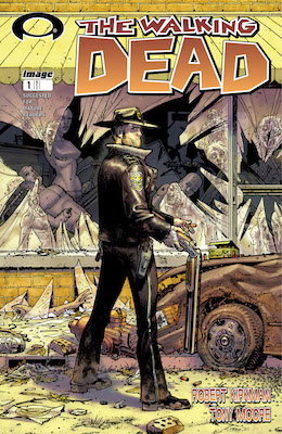 modern age comics: The Walking Dead 1