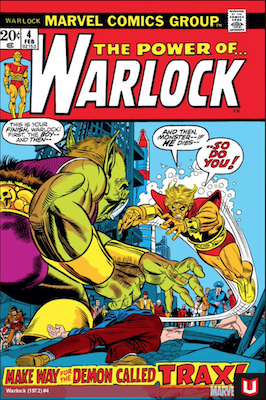 The Power of Warlock #4. Click for values.