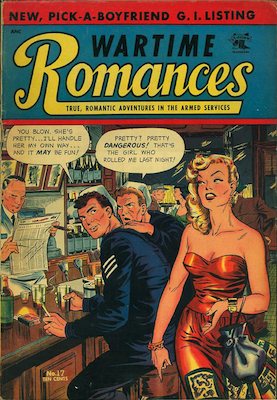 Wartime Romances #17. Click for values