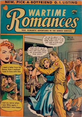 Wartime Romances #10. Click for values