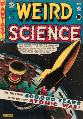 Weird Science #5 (January/February 1951): A Franchise is Born. Click for values