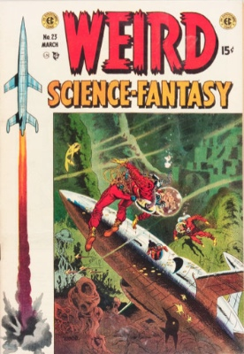 Weird Science-Fantasy #23 (March 1953): Combined Weirdness. Click for values