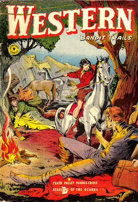 Matt Baker cover: Western Bandit Trails #9 / Approved Comics. Click for values.