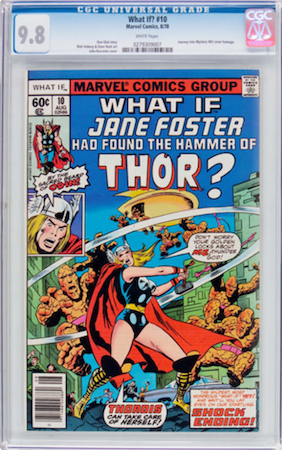 What If? #10 is a pretty common book. Don't buy an inferior copy! We recommend CGC 9.8. Click to buy a copy