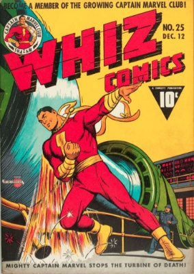 Whiz Comics #25: Origin and First Appearance, Captain Marvel Jr. Click to find out values