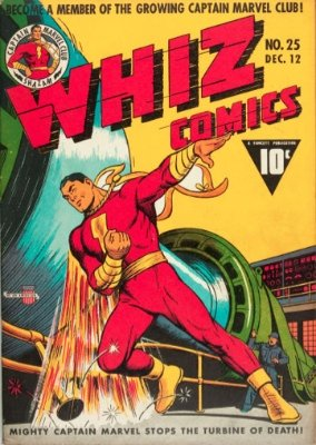Whiz Comics #25: Introducing Captain Marvel, Jr. (December, 1941). Click for values