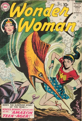 Wonder Woman #107: First Mer-Boy. Click for value