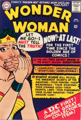 Wonder Woman #159: Origin Story Retold. Click for value