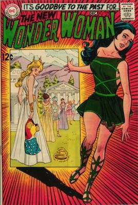 Wonder Woman #179: New Wonder Woman begins; Neal Adams cover art. Click for value