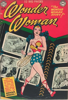 Wonder Woman #45: Origin Story Retold. Click for values