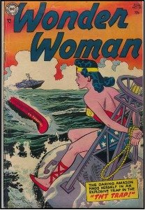 typical vintage comic books from the golden age