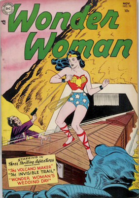 Wonder Woman Comics #70: First Angle Man. Click for value