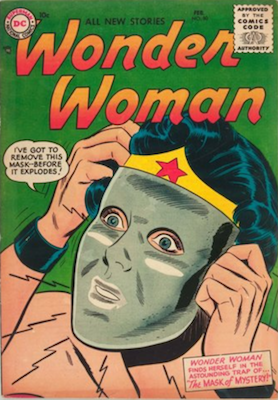 Wonder Woman #80: Origin of the Invisible Plane. Click for value