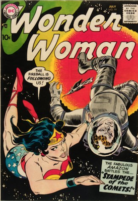 Wonder Woman #99: New origin story continues. Click for value