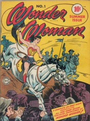 Wonder Woman #1 (Jun 1942) First Solo Comic, Origin of Wonder Woman