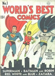 World's Best Comics #1: Superman, Batman and Robin