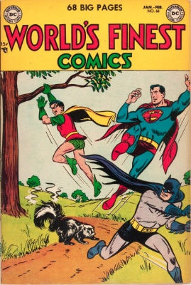 Origin and First Appearance, Crimesmith, World's Finest Comics #68, DC Comics, 1954. Click for value