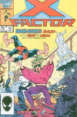 Origin and First Appearance, Famine, X-Factor #12, Marvel Comics, 1987. Click for value