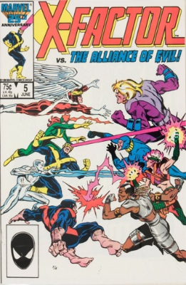 Apocalypse (First Appearance: X-Factor #5, July, 1986). Click for value