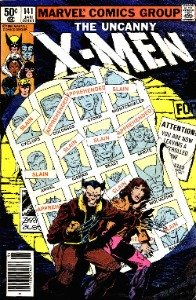 vintage comic books from the Bronze age: X-Men 141