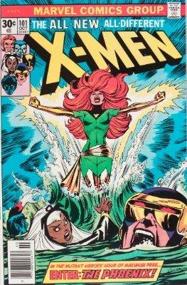 Hot Comics #78: Uncanny X-Men #101, 1st Phoenix. Click to buy