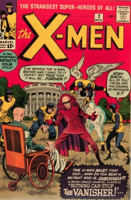 X-Men #2: Second appearance; first Vanisher. Click for values