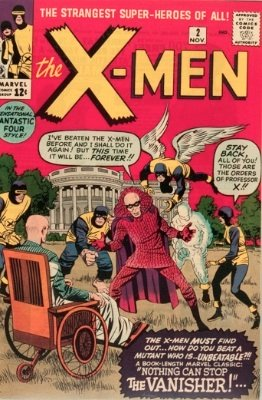 X-Men comic #2: First appearance of The Vanisher, and a collectible comic