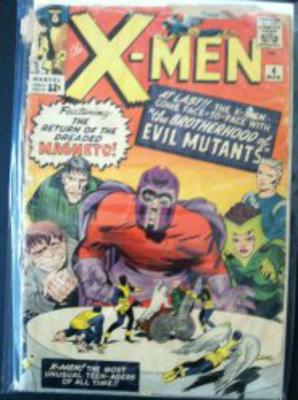X-Men #4 value: in this condition, $20-40