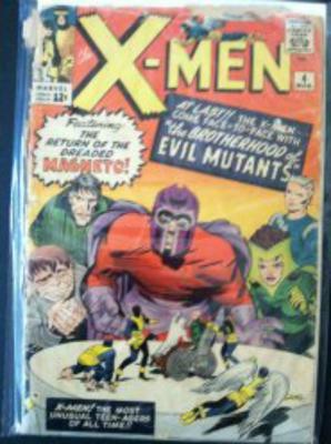 X-Men #4 value: in this condition, $20-40
