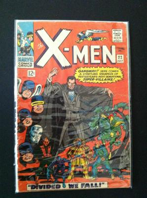 X-Men #22 value: pretty beaten up and not worth more than $20