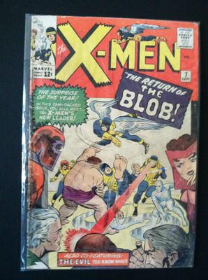 X-Men #7 value: looks to be a solid 6.0 to 7.0 and worth up to $200