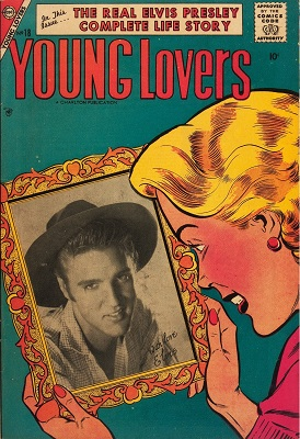 Young Lovers #18: Elvis Presley Cover. Click for value