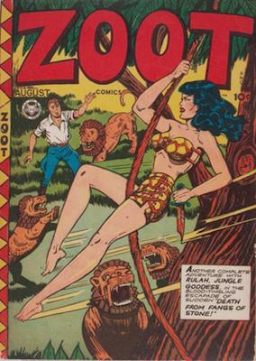Zoot Comics #8. Click for values