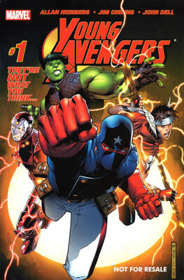 Origin and First Appearance, Young Avengers, Young Avengers #1, Marvel Comics, 2005. Click for value