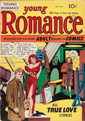 Young Romance Comics #1: Considered the first romance comic book ever